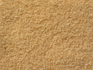 rice texture: parpoiled rice texture.
