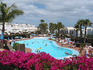 Holiday paradise Lanzarote: Holiday paradise, Playa Blanca, southern part of Lanzarote.