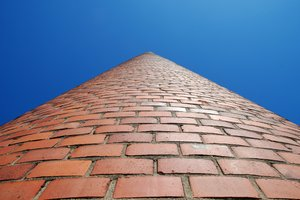 Infinite Chimney 1: Brickwork chimney, Lund, Sweden.Hope you appreciate the strength in the simplicitity of the concept.  Test to view it as paved path with sides dipping into the abyss! Also check out http://www.sxc.hu/photo/7 .. !I climbed up on the roof of smaller power/h