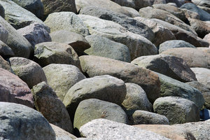 Rocks: Rocks at the coastline, Skåne, Sweden.