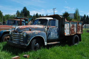 Old truck: Old truck, captured near Seattle, USA.