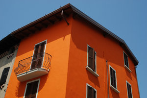 House Colors 1: Colorful houses, Italy.