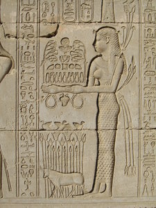 Hieroglyphs at Dendara