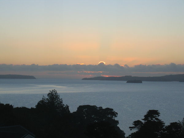 ~ Winter Sunrise 2: Winter sunrise over Kawau Bay, New Zealand