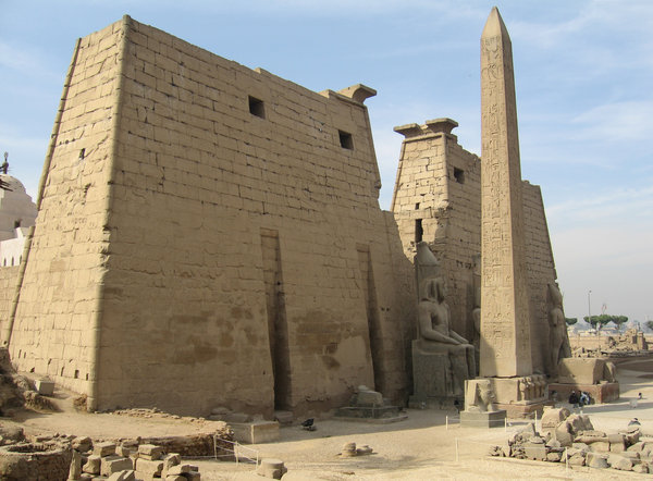 Luxor Temple: Obelisk of Ramesses II at Luxor Temple