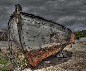 Used boat - HDR