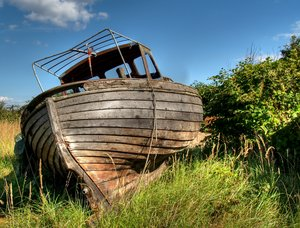 Old boat - HDR: No description