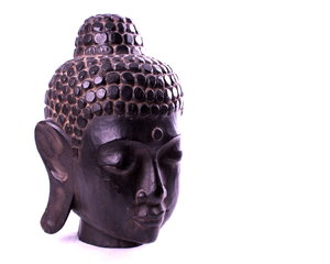 Carved Head of Buddha