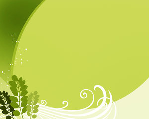 Green Leaf Template