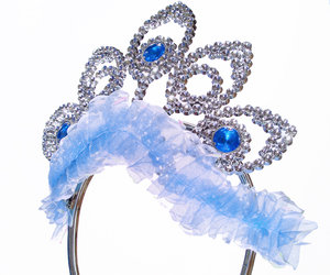 Princess headwear 2: Tiara, this one is a toy plastic one, ideal for dressing up and pretend for budding princesses