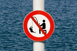 no fishing: no fishing signal