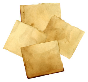 Paper Scraps: A collage of vintage paper scraps.Please visit my gallery at:http://www.thinkstockphot ..and:http://www.dreamstime.com ..