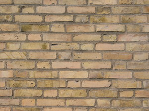 brickwall texture 12: Series of various brickwalls or brick-based walls. There are more than 50 unique textures with old and new bricks, with and without cracks, half-timbered walls, different lights etc etc and very small grid distortion.