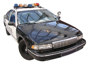Police car: American chase car. Please let me know if you decide to use it!