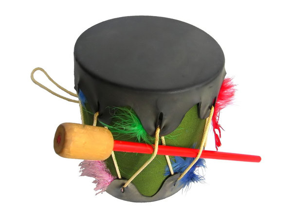 Bang the Drum: Child's noise maker.