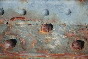 Rusty metal texture: Oxidized metal texture