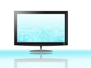 lcd screen: monitor or flatscreen