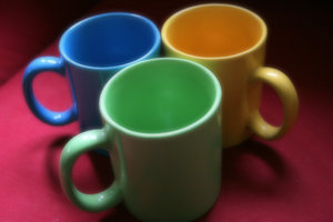 mugs: my only regret is that these mugs do not contain coffee...