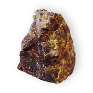 Alluaudite: Alluaudite (Sodium iron manganese phosphate)Location; Pleasant Valley Mine, near Fourmile, Custer County, South Dakota