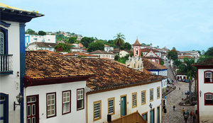 > Diamantina Pan 2: Panorâmica do Centro de Diamantina, Minas Gerais, BrasilPanoramic downtown of Diamantina, Minas Gerais, Brazil