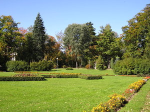 Park: A main park in Kudowa-Zdroj.