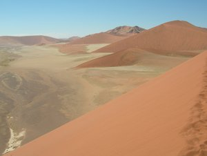 namib desert 5: Namib desert with endless dune fields