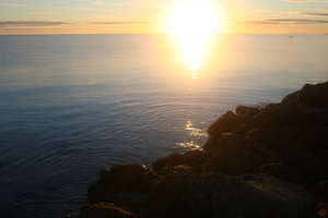 ocean sunrise: sunrise on the Indian Ocean on the coast of Western Australia