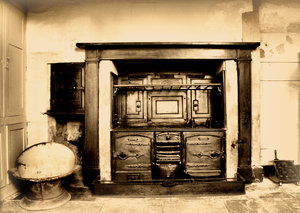 Old Kitchen range: 'Victorian' Kitchen' in an old building