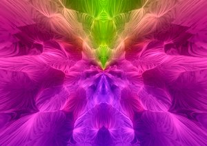 Feathery Fractal 1: A soft, billowing fractal pattern in rainbow colours. You may prefer:  http://www.rgbstock.com/photo/ow1AXem/Collage+Background+7  or:  http://www.rgbstock.com/photo/ouFSKgE/Blurred+Background+lines+29