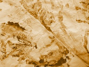 Sepia Grunge Paper: Grunge texture, background, brush effect on paper.