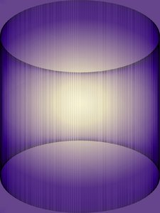 3D Abstract in Purple: A purple curving tube-like background or 3D effect. A great backdrop, texture, fill or design element.