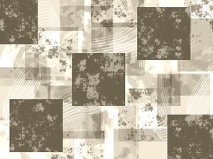 Grunge Background of Squares 1