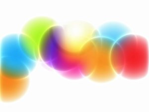 Abstract Spots: Abstract colourful circles or spots. Useful design element.