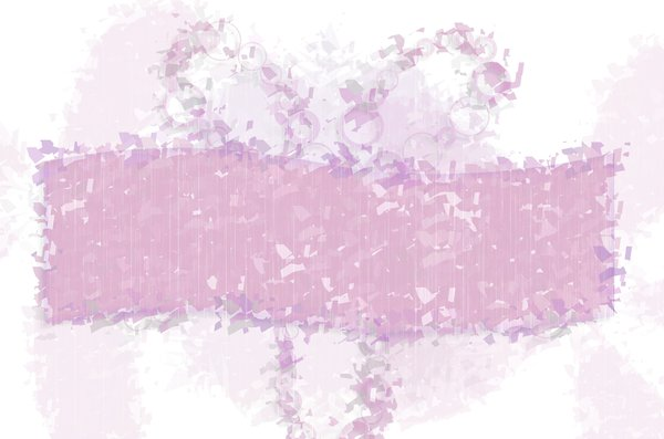 Banner Abstract 5: Patchy, messy girly grunge  banner. What do you want to say?