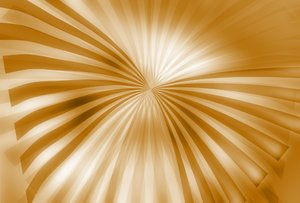 Wyld 4: Wing-shaped sunburst background design.