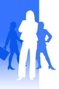 Business Women: Business women concept illustration