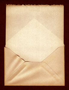 Dark Letter: Vintage Envelope.Please visit my stockxpert gallery:http://www.stockxpert.com ..