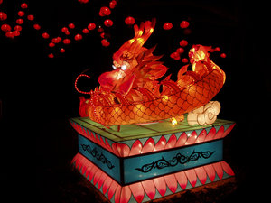 Chinese Dragon: Chinese lantern festival, Auckland, New Zealand.