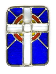 Stained Glass: Handmade Stained Glass Cross.http://www.dailyaudiobibl ..Please visit my stockxpert gallery:http://www.stockxpert.com ..