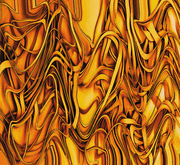 Rubber Bands.2: What started out as simple rubberbands became a distorted abstract painting.Please visit my stockxpert gallery:http://www.stockxpert.com ..