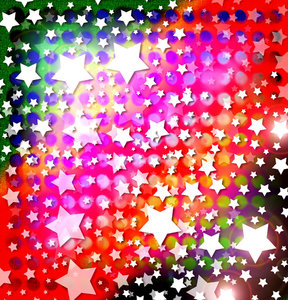 Star Pattern: A colorful canvas texture with lots of stars.Please visit my stockxpert gallery:http://www.stockxpert.com ..