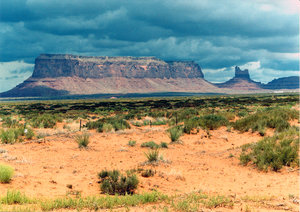 monument valley 1: landscape of monument valley