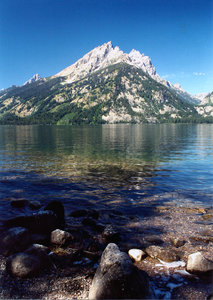 Grand Teton 2: landscape of grand Teton National Park