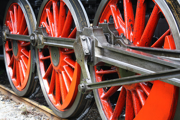 wheel 1: exhibition of old trains