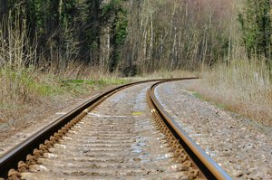 Railway tracks: No description