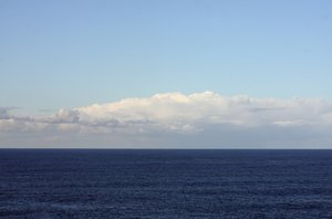 Horizon line 3: Horizon line in the Atlantic Ocean (A Coru�a, Galicia, Spain, EU)
