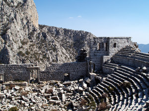 Termessos 1: High up in the mountains close to Antalya this antique city is located...