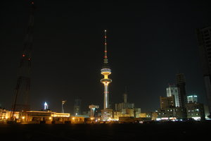 kuwait buildings and tower