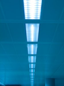 Blue lights: ...