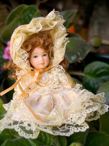 Doll in the garden 1